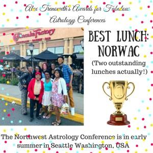 NORWAC Alex TrenowethConference Awards