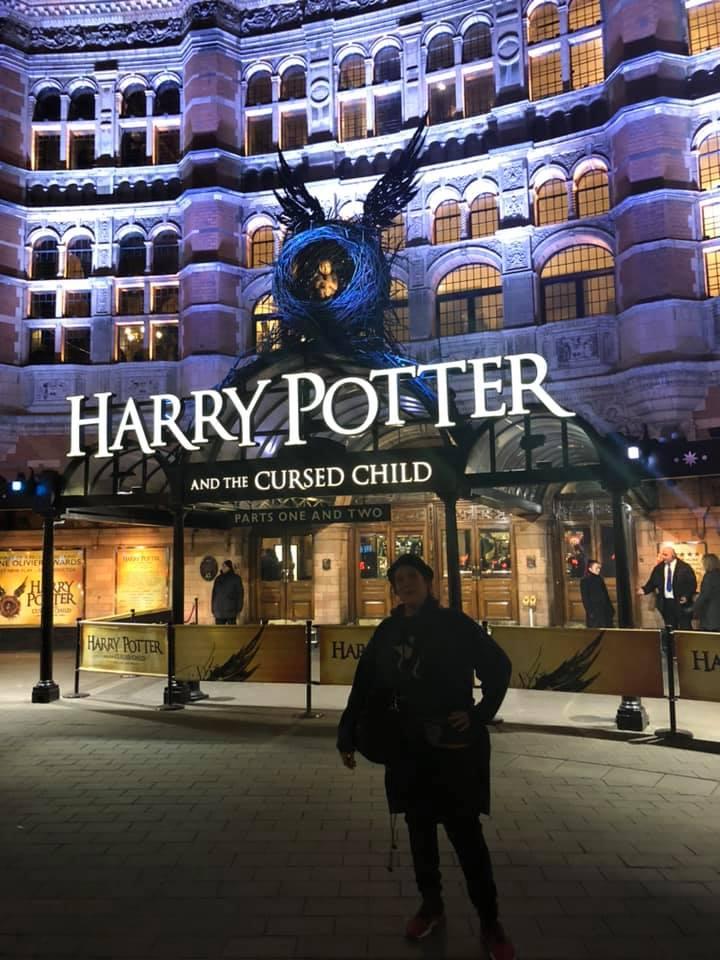 Alex Trenoweth and Harry Potter