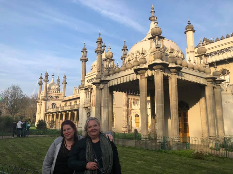 Julija and Alex in Brighton, Lunar progressions