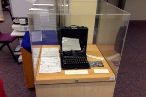 The typewriter Mitchell used to write Gone With the Wind