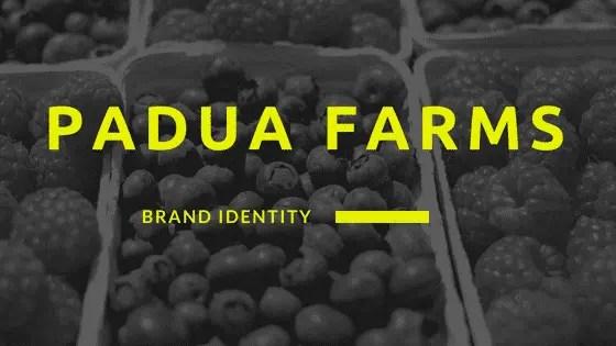 Padua Farms Brand ID