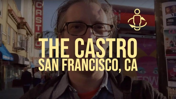 Spinning at The Castro – the Gay Neighborhood of San Francisco