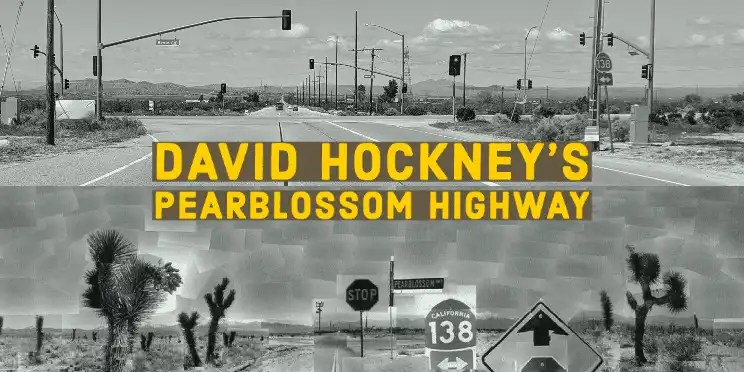 David Hockney Pearblossom Highway