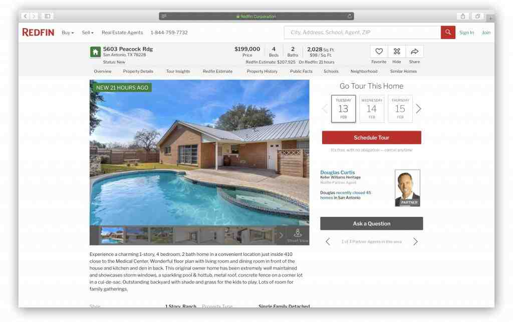 fake address used by web design scam attempt