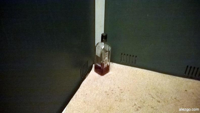 бухло в лифте