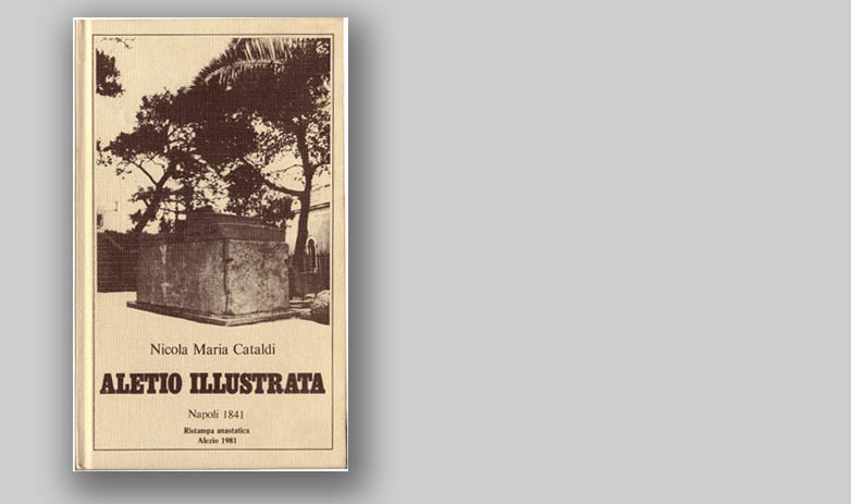 ALETIO ILLUSTRATA - Napoli 1841