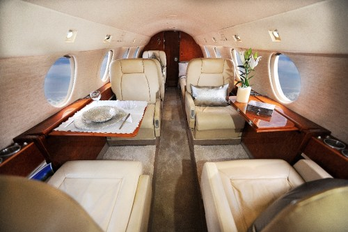 Private Jet Charter in comfort aboard our Falcon 20