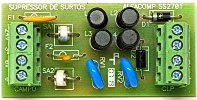 SS2701 - Protetor contra surtos na entrada analógica