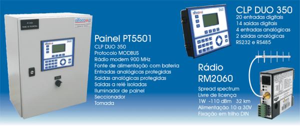 Baixe o manual do painel de telemetria PT5501