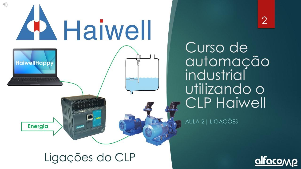 Curso automação com CLP Haiwell - Aula 2