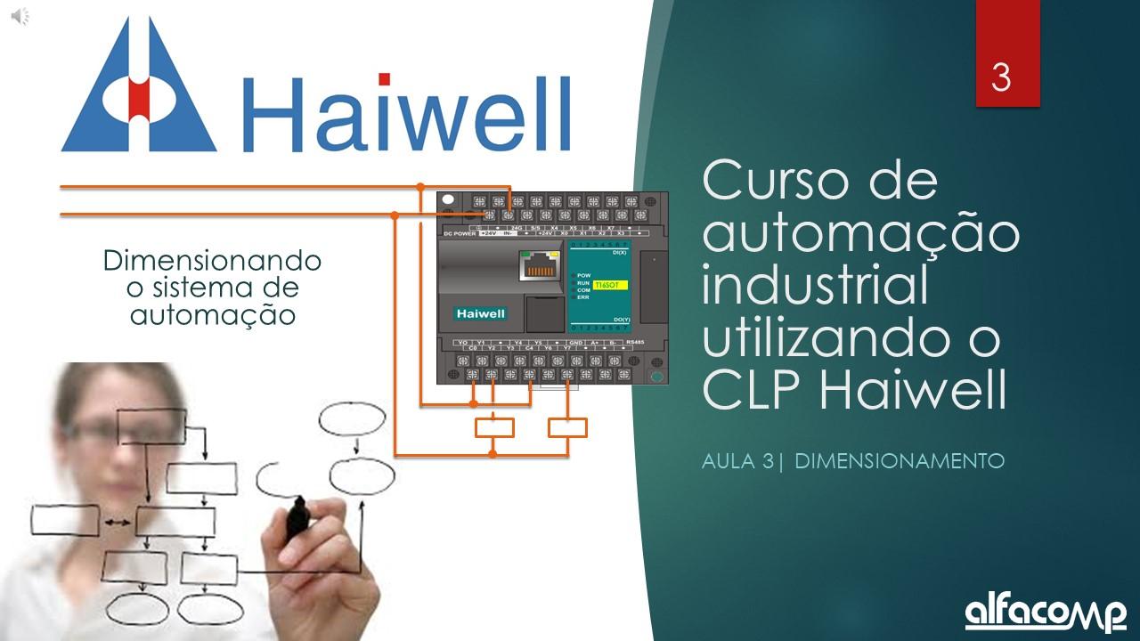 Curso automação com CLP Haiwell – Aula 3