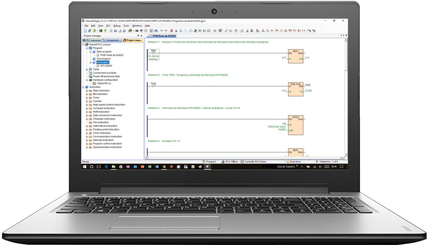 Software de Programação do CLP Haiwell – Download gratuito