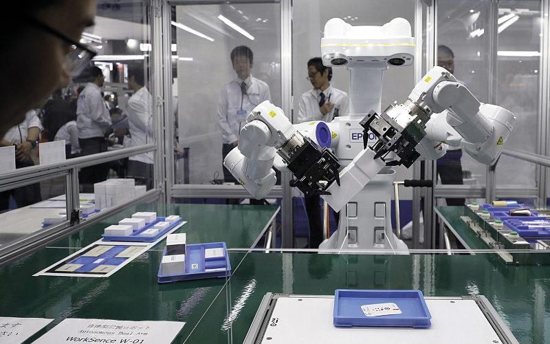 Robô Epson WorkSense W-01