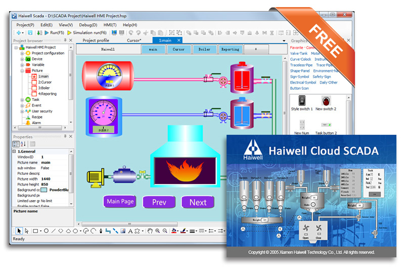 Haiwell Cloud SCADA