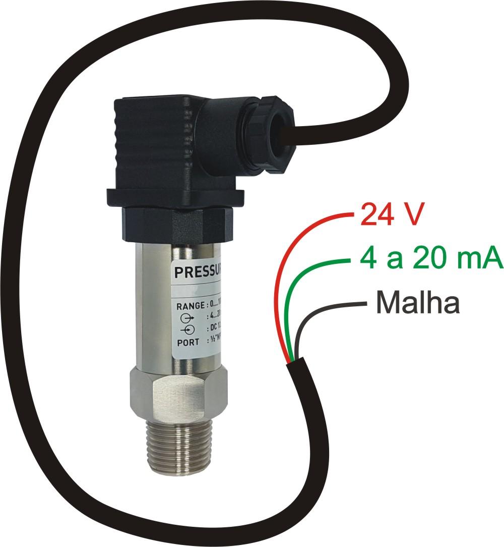 Transmissor de pressão – TP20