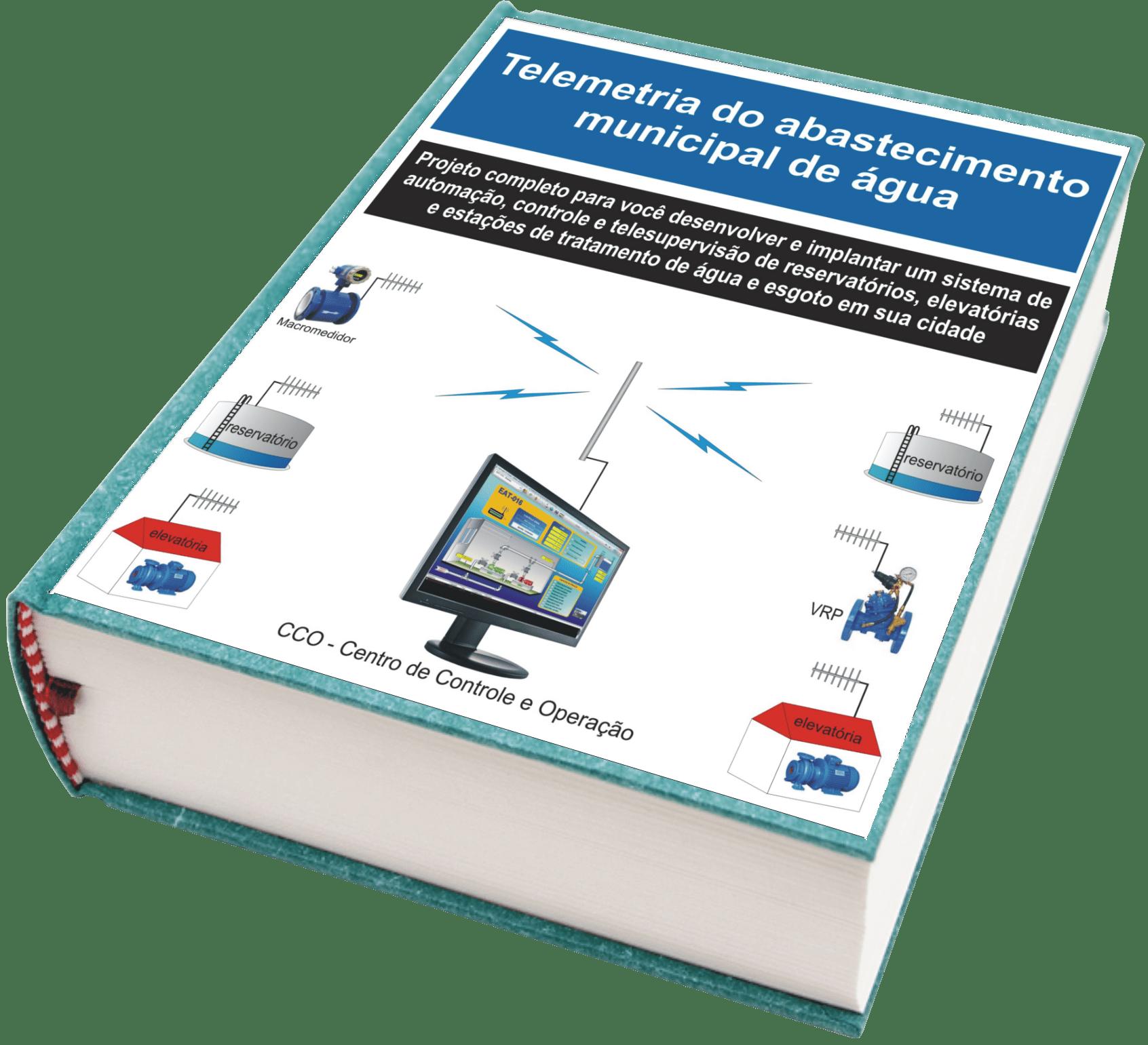 e-book – Tudo sobre a telemetria do saneamento