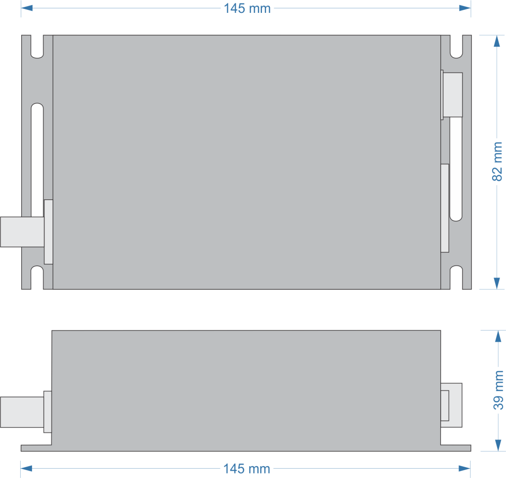 XZ-DT25 dimensões