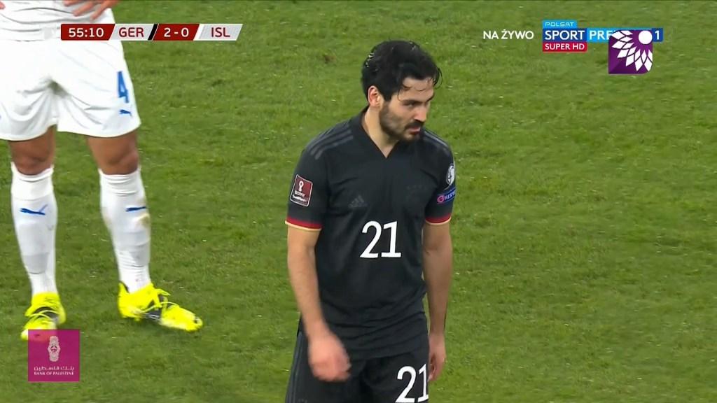 شاهد الهدف الثالث ( 3-0 ) لصالح المانيا في شباك ايسلندا