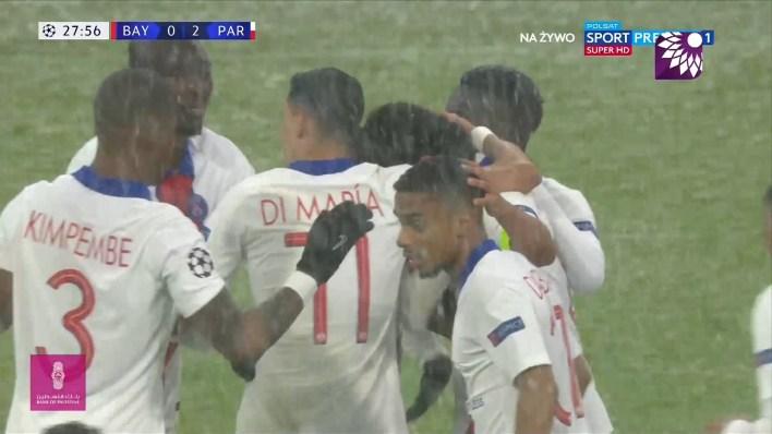 شاهد الهدف الثاني (2 – 0) لصالح باريس سان جيرمان في شباك بايرن ميونيخ