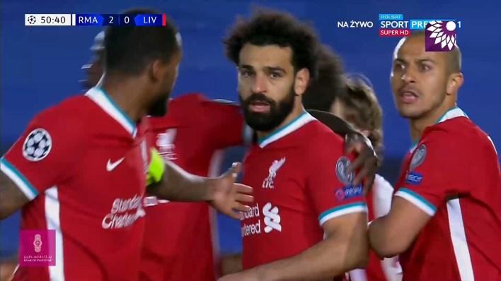 شاهد الهدف الاول ( 2-1 ) لصالح ليفربول في شباك ريال مدريد