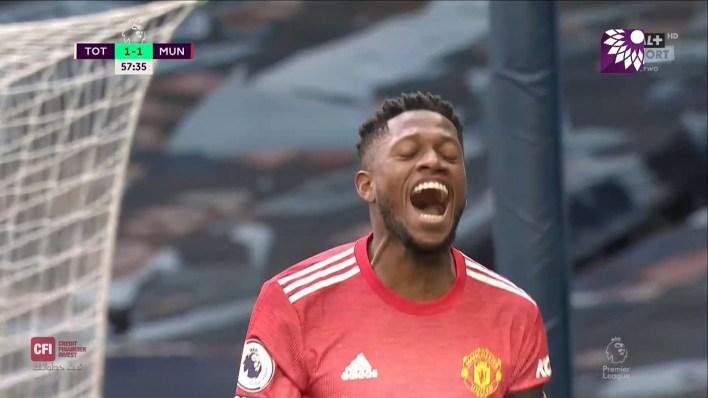 شاهد هدف التعادل ( 1-1 ) لصالح مانشستر يونايتد في شباك توتنهام