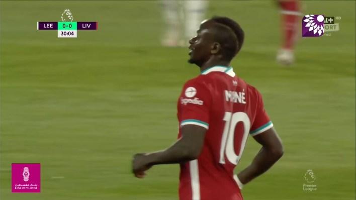 شاهد الهدف الاول ( 1-0 ) لصالح ليفربول في شباك ليدز يونايتد