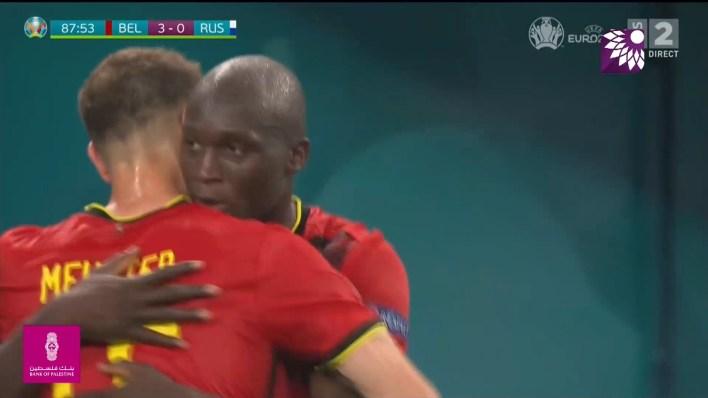 شاهد الهدف الثالث ( 3-0 ) لصالح بلجيكا في شباك روسيا