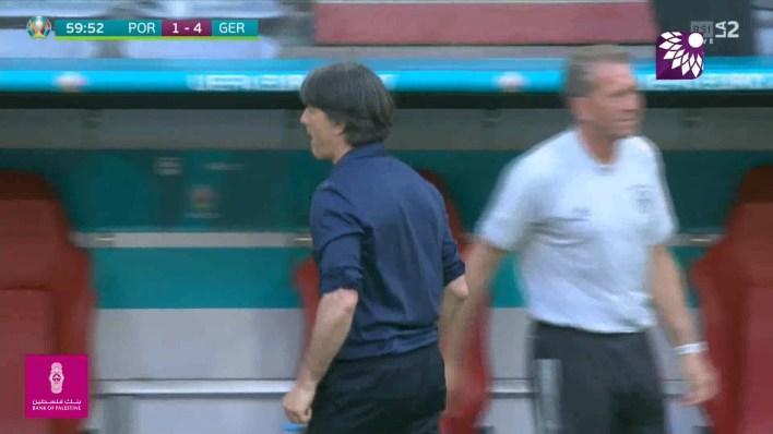 شاهد الهدف الرابع (4-1) لصالح المانيا في شباك البرتغال