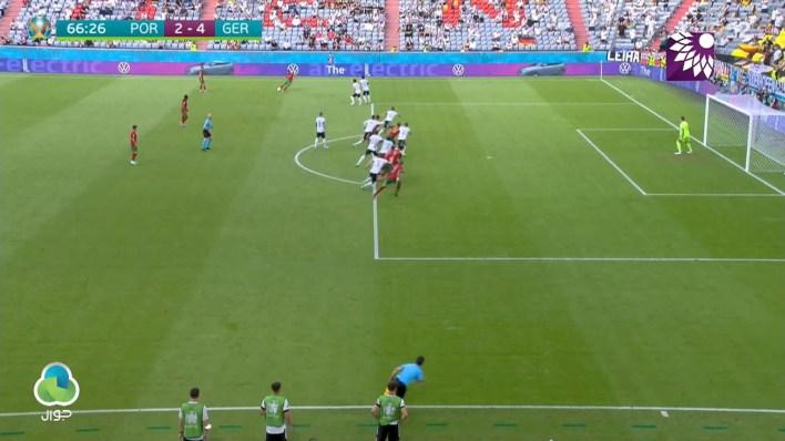 شاهد الهدف الثاني (4-2) لصالح البرتغال في شباك المانيا