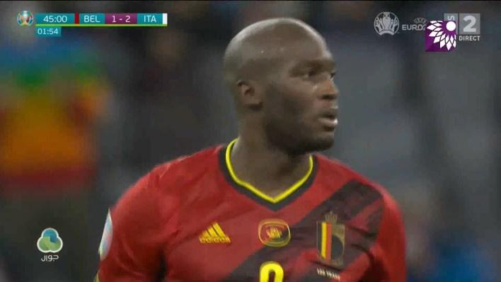 شاهد الهدف الاول (2-1) لصالح بلجيكا في شباك ايطاليا