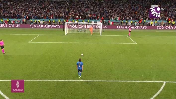 شاهد ركلات الترجيح ايطاليا ضد اسبانيا