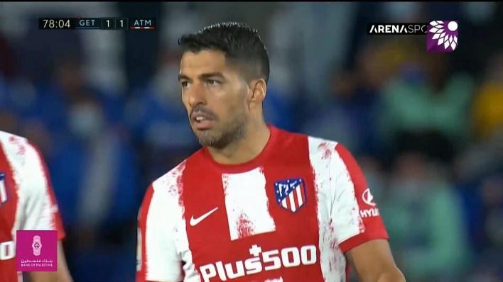 شاهد هدف التعادل (1-1) لصالح اتلتيكو مدريد في شباك خيتافي