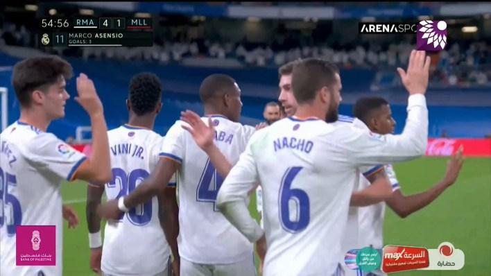 شاهد الهدف الرابع (4-1) لصالح ريال مدريد في شباك ريال مايوركا