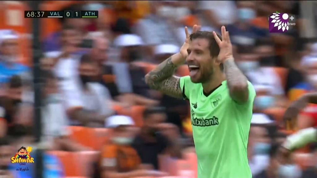 شاهد الهدف الاول (1-0) لصالح اتلتيك بلباو في شباك فالنسيا