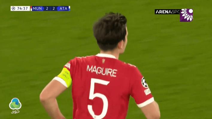 شاهد هدف التعادل (2-2) لصالح مانشستر يونايتد في شباك أتلانتا
