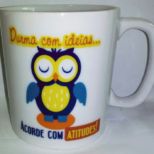 CANECA CHOCOLATE 300 ML - ACORDE COM ATITUDES