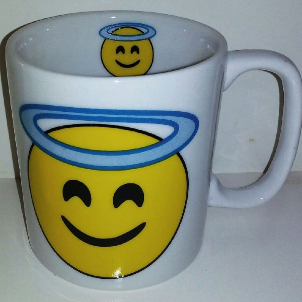 CANECA CHOCOLATE 300 ML- EMOTION ANJO
