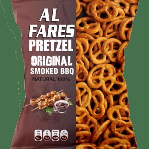 Alfares Pretzel Biscuit With Smoked Barbecue