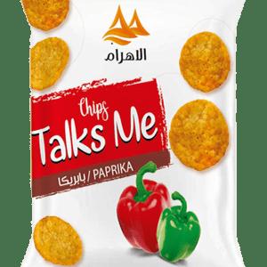 Talks Me Round Tortilla Paprika Flavor
