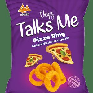 Talks Me Puff Corn Ring Pizza Flavor
