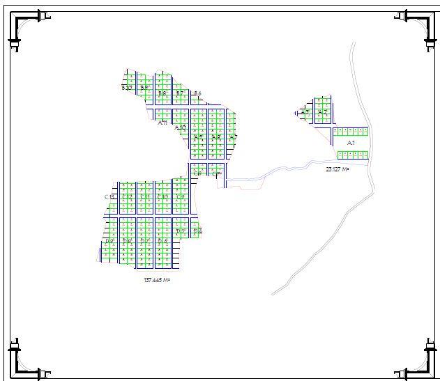 Site Plan Kampung Kurma Jasinga