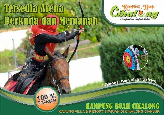 Arena Berkuda dan Memanah