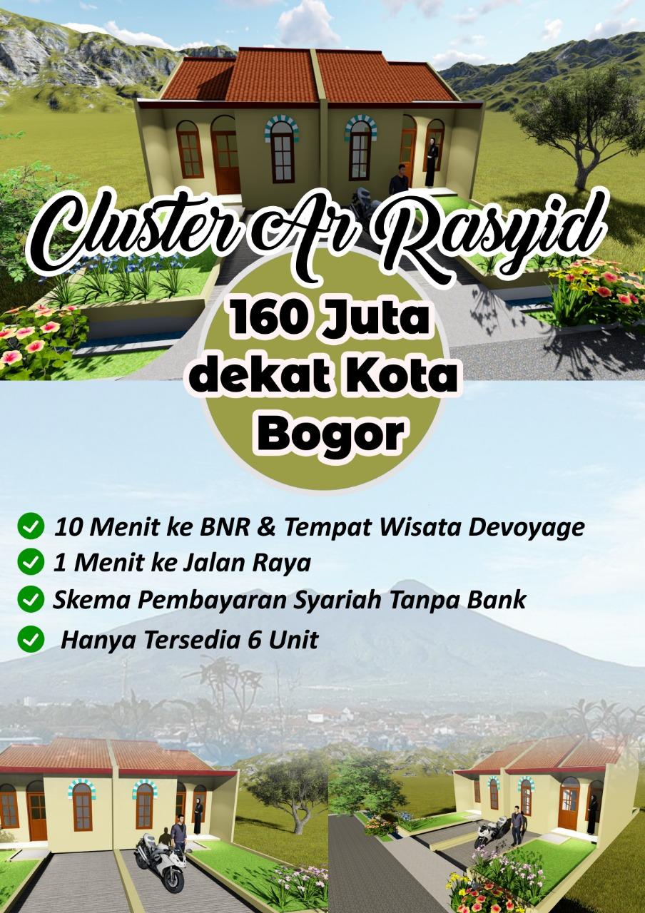 Perumahan Cluster Arrasyid Bogor