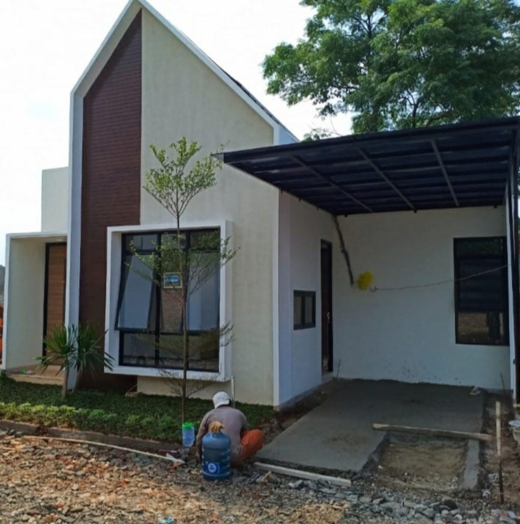 Design Perumahan Griya Pesona Pondok Cabe View Depan