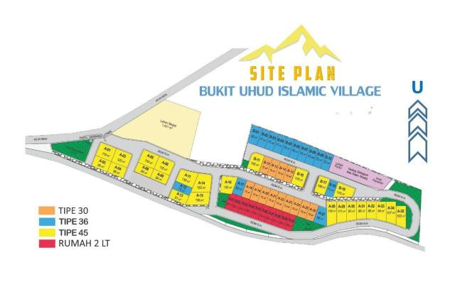 Bukit Uhud Islamic Village Site Plan