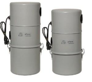 Alfavac ultra serisi merkezi süpürge sistemi ana üniteleri