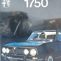Alfa 1750 - 2000 berlina