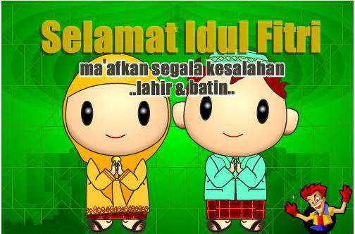 Kumpulan Kartu Ucapan Selamat Idul Fitri 1435 H Selamat Lebaran