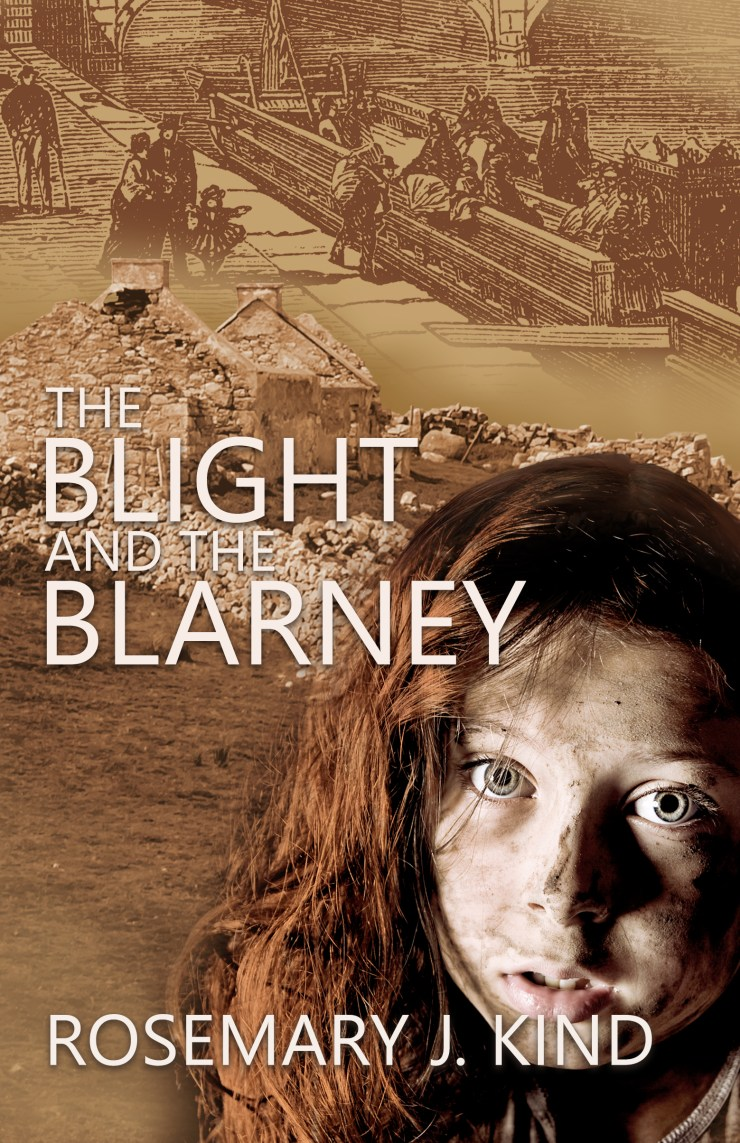 The Blight and the Blarney - Rosemary J. Kind