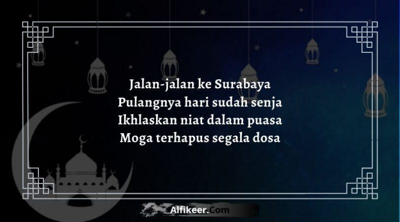 Pantun Puasa di Bulan Ramadhan